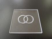 PX(パイレックス)ガラス 微細穴・微細溝加工