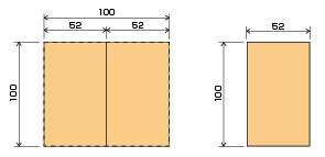 Before 材料の流通サイズを知ることでコストダウンを行う