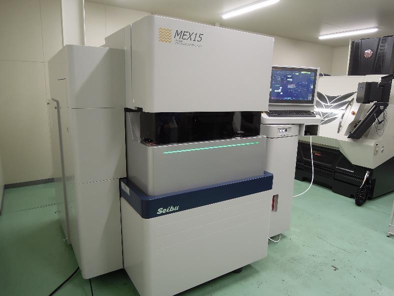 超精密 油仕様ワイヤー放電加工機 MEX15